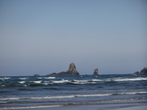 Rocks off the Coast of Cannon Beach, Oregon