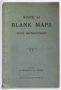 Book of Blank Maps w Instructions